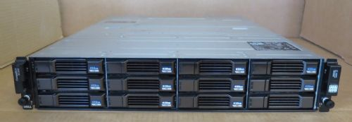 Dell Compellent SC200 4.95TB 11x 450GB 15K 2x SC2 EMM 2x PSU Expansion Enclosure